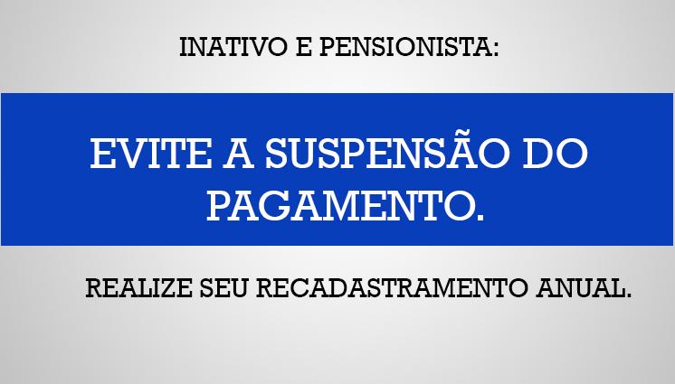 Fique atento ao Recadastramento DIPC!!!
