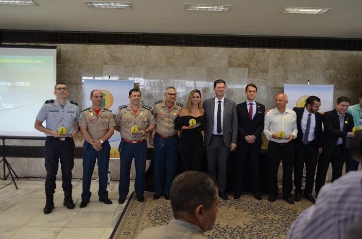 PMDF recebe prêmio por atingir 100% de transparência ativa