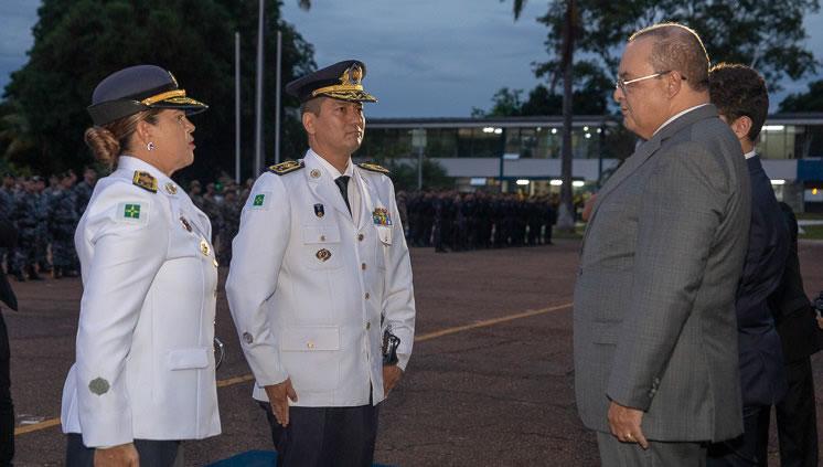 Governador parabenizou a nova Comandante-Geral e elogiou o trabalho da corporação
