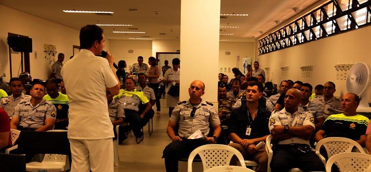 Novembro Azul: PMDF realiza palestra de prevenção ao Câncer de Próstata