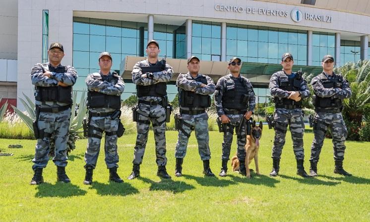 PMDF emprega cerca de 3.000 policiais militares no BRICS