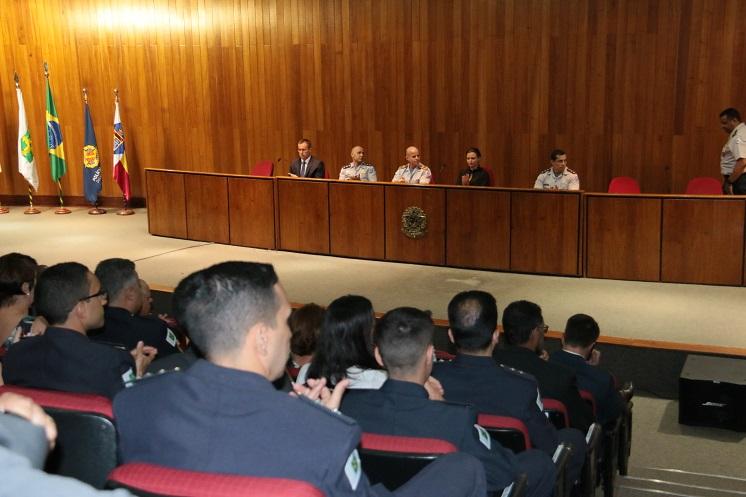Formatura do curso de pós-graduação Lato Sensu em Inteligência de Segurança Pública
