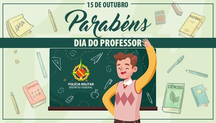 PMDF homenageia os professores