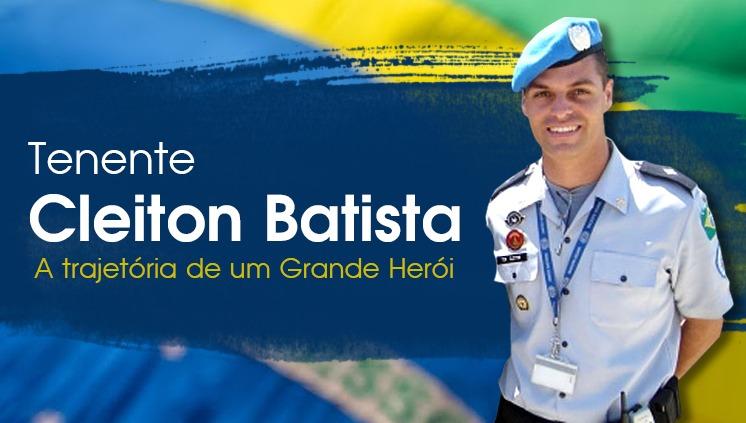 Tenente Cleiton Batista: PMDF relembra trajetória de um grande herói