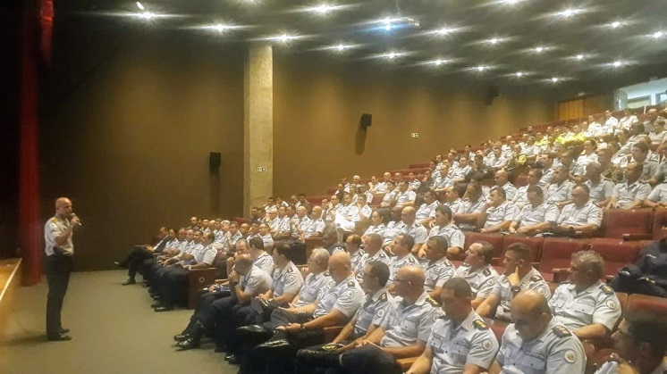 Comandante-Geral se reúne com oficiais superiores da PMDF e esclarece dúvidas sobre a recomposição das perdas nos proventos dos servidores da segurança pública do DF